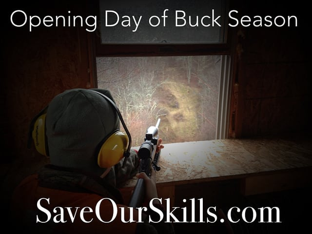 Opening Day of Buck Season