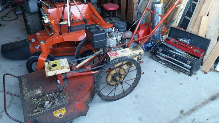 Swapping A Mower Engine – Part 1
